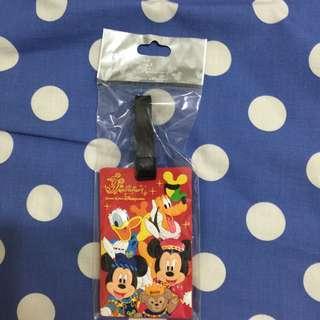 全新 香港 Disney 米奇 ᴹᴵᶜᴷᴱᵞ行李吊牌
