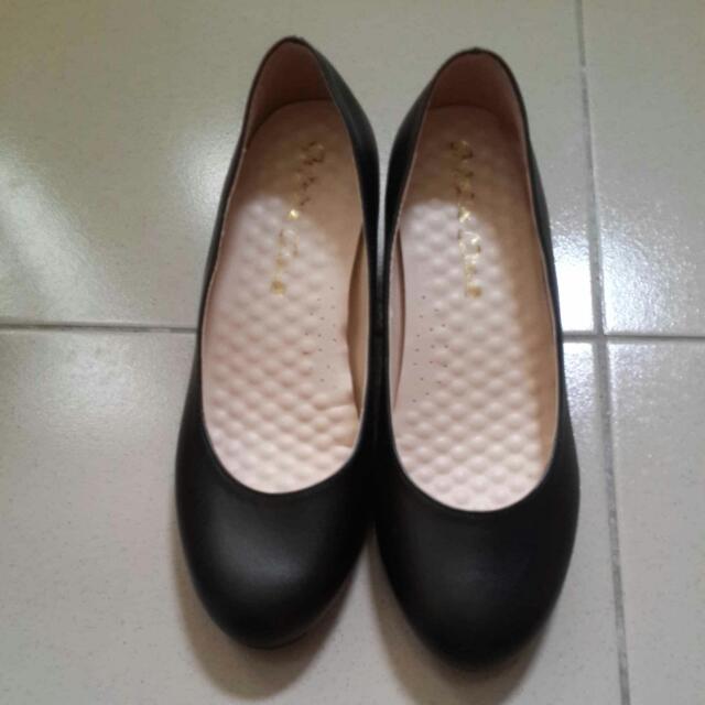 🎡黑色高跟鞋5cm