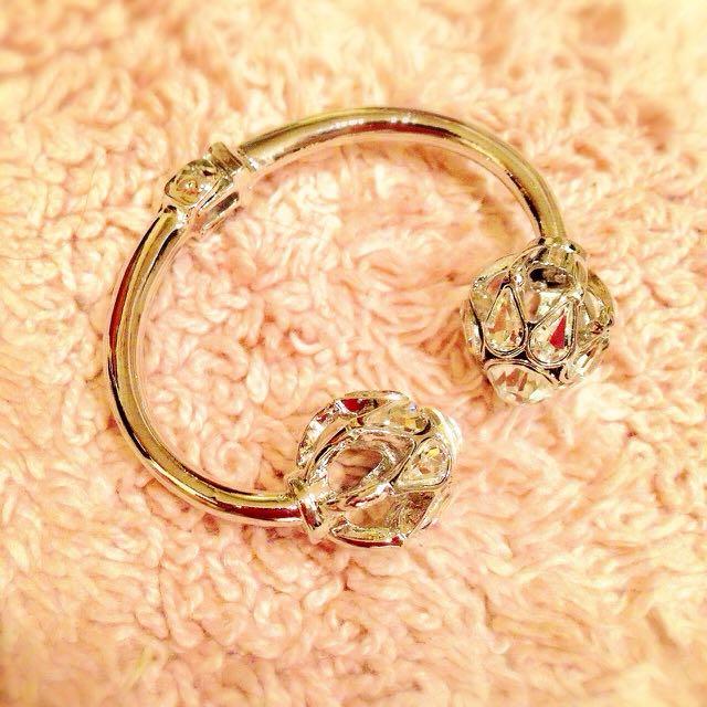 🇰🇷 《正韓》全新-氣質鑲鑽造型手環