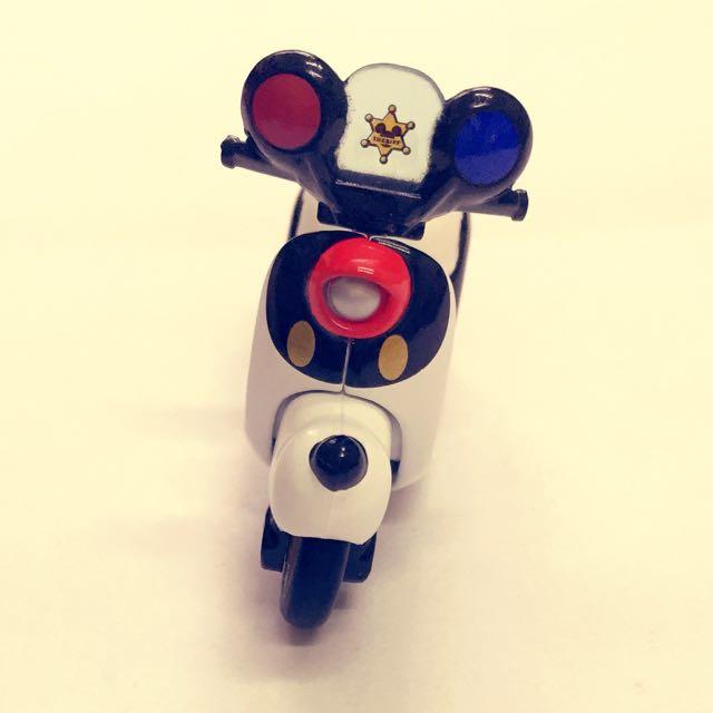 迪士尼 夢幻米奇警察摩托車