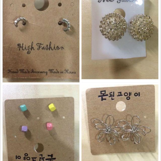 韓國製 耳環