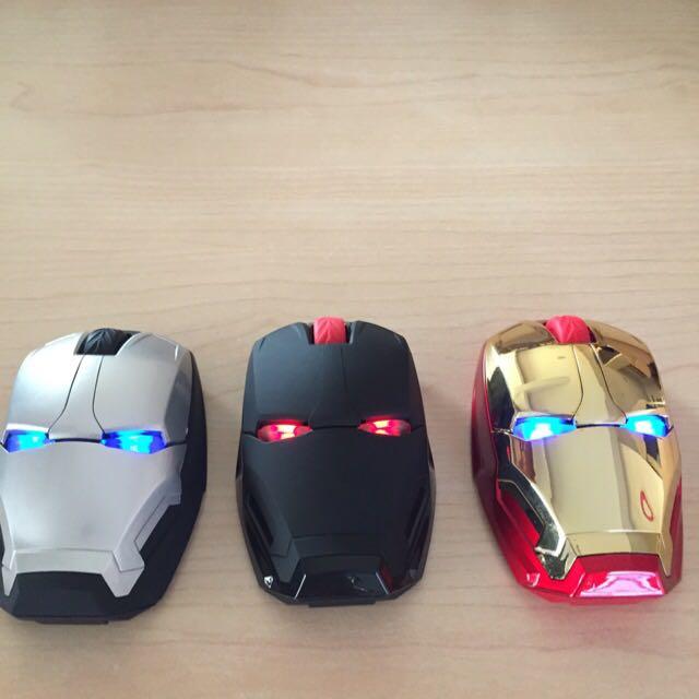 全新 限量珍藏 鋼鐵人 無限滑鼠