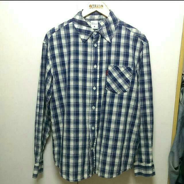 【便宜出售】 Edwin 長袖格子襯衫