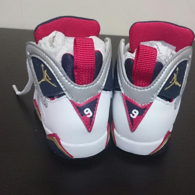Jordan7奧運紀念兒童鞋