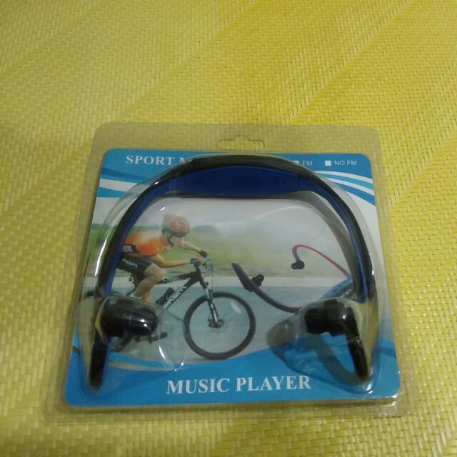 運動mp3 fm 耳機