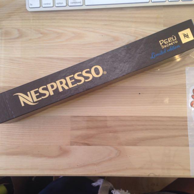 Nesperesso咖啡膠囊