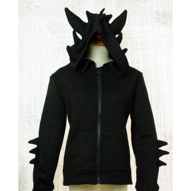 Pre order limited edition black toothless how to train your dragon pre order limited edition black toothless how to train your dragon hoodie jacket cosplay costume womens fashion on carousell ccuart Images
