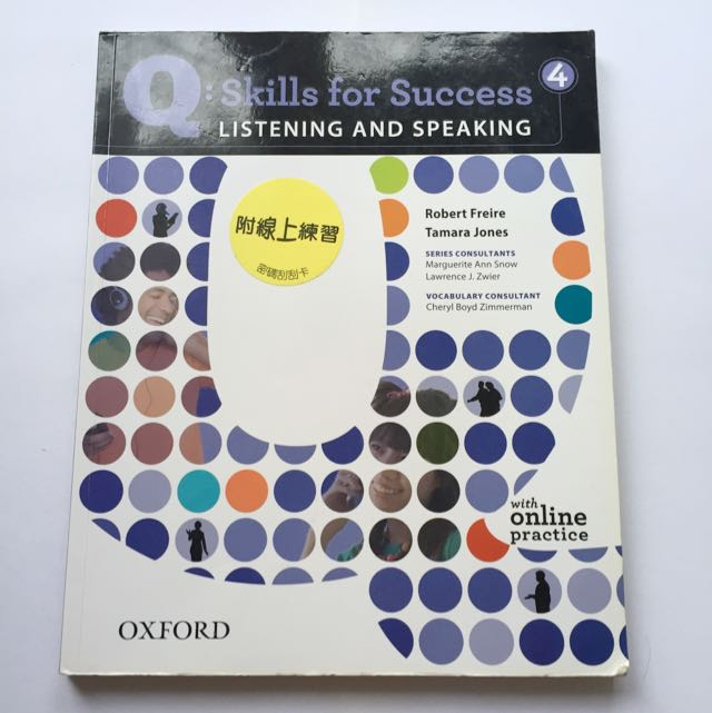 Q: Skills For Success Listening And Speaking 4