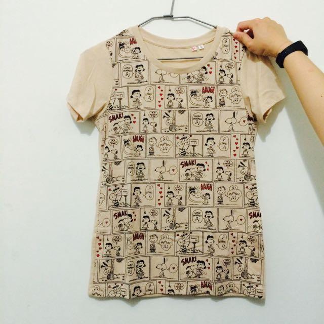 Snoopy T恤