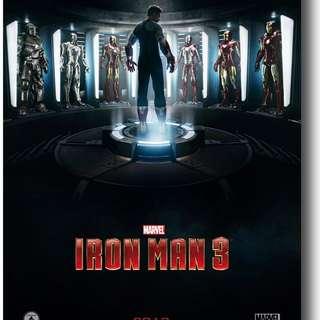 Iron Man 3 - Original Cinema DS Poster 27x40