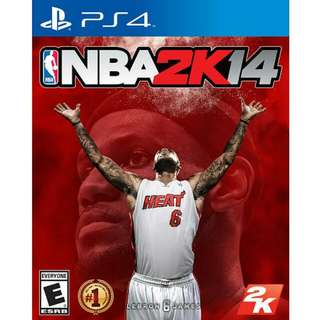 PS4 NBA 2K14中英文版