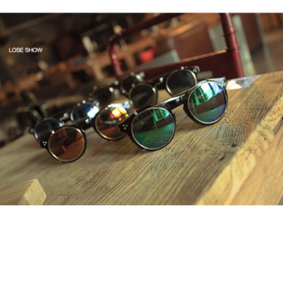 Vintage Design Spectacle with Dark Cover (Ready Stock)