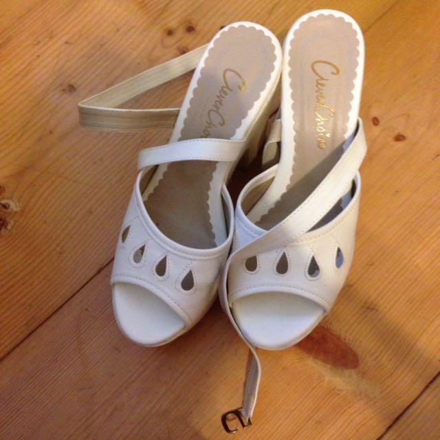 厚底涼鞋23號