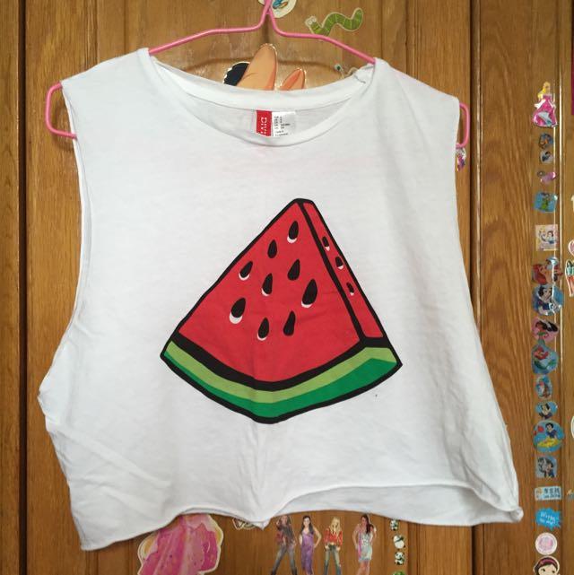 7935154da6726 H m Watermelon Muscle Tank