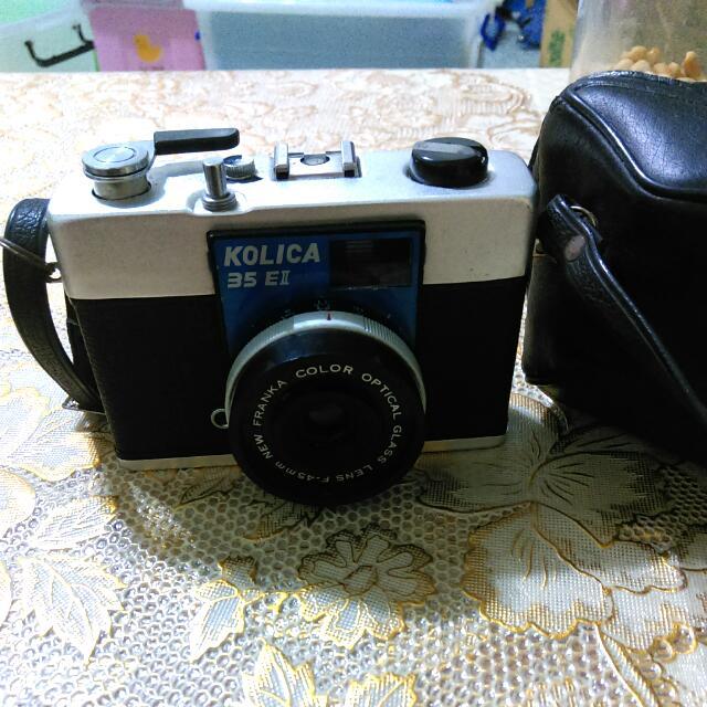 古董相機kolica 35 E II(含運可議價)