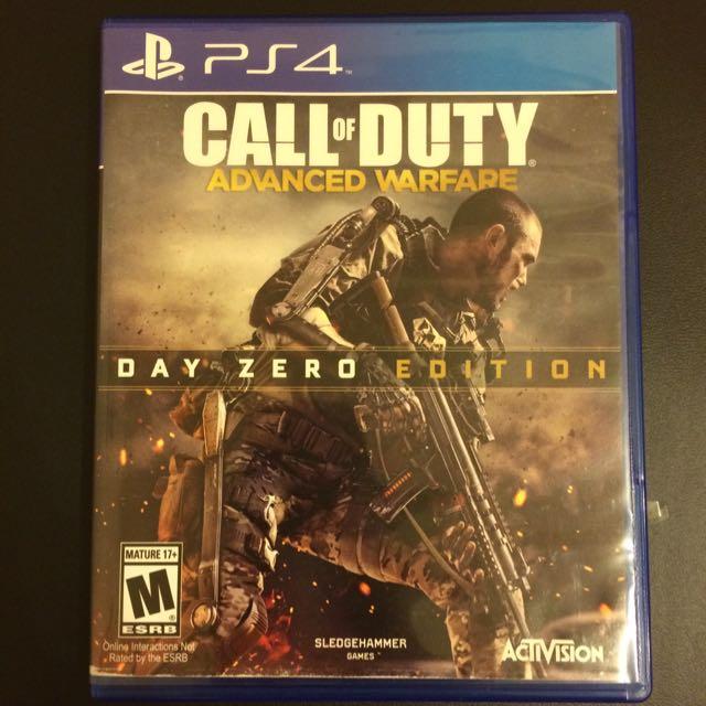 [二手]PS4-Call Of Duty(有序號)(英文)