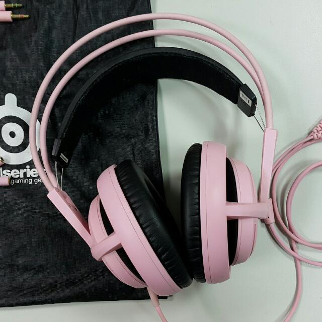 西伯利亞v2 限量粉紅款耳機