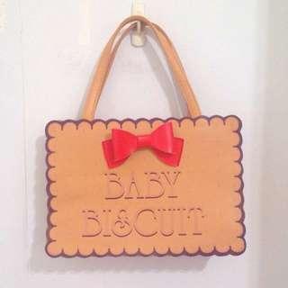 (含郵)超可愛餅乾手提包