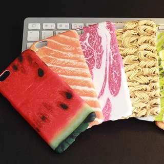 🔥現貨 日本仿真食物 iPhone 5/6/6Plus 手機殼