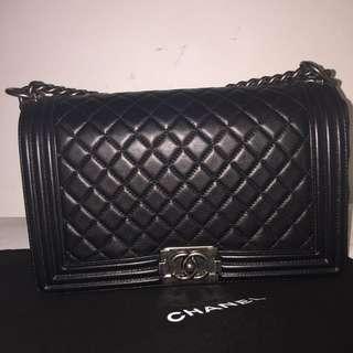 Chanel Boy New Medium Black