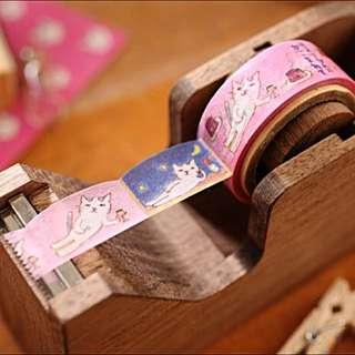 {不自然女孩} 全新現貨 日本製 oriental berry手繪風和紙膠帶(悠閒)