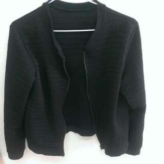 絕對黑色,棒球外套