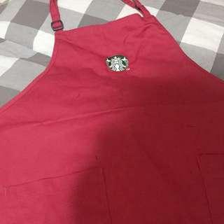 星巴克紅尾裙