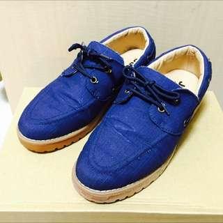 休閒鞋 藍