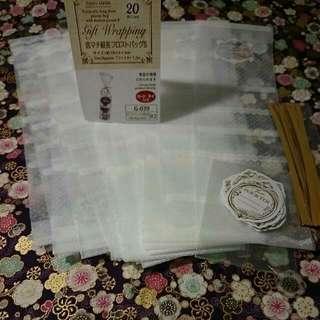 餅乾袋×18(附加小卡)