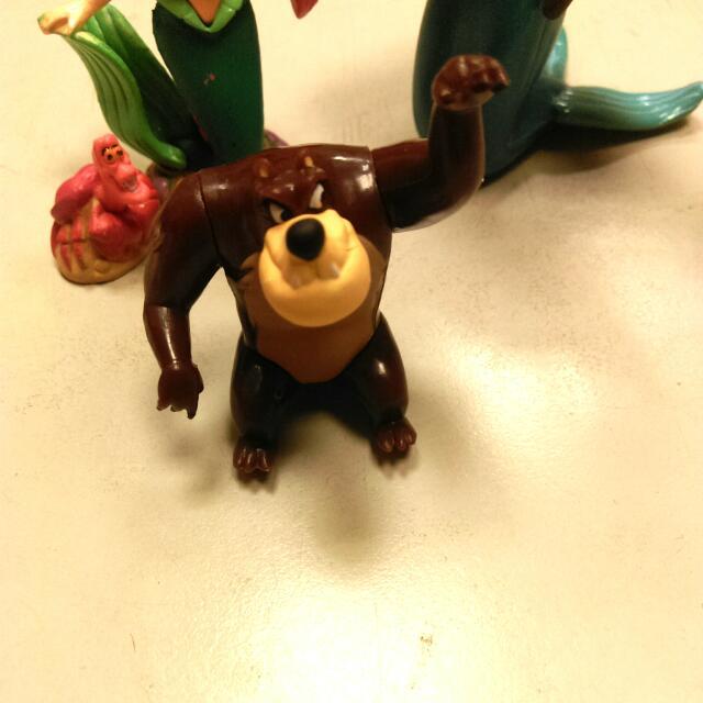 森林王子絕版迪士尼巧克力蛋壞人派的狠角色