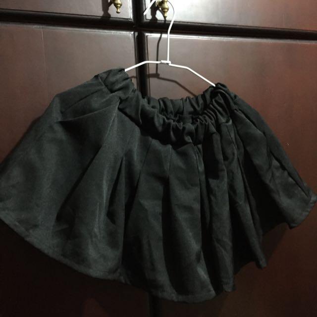 寬口百摺褲裙