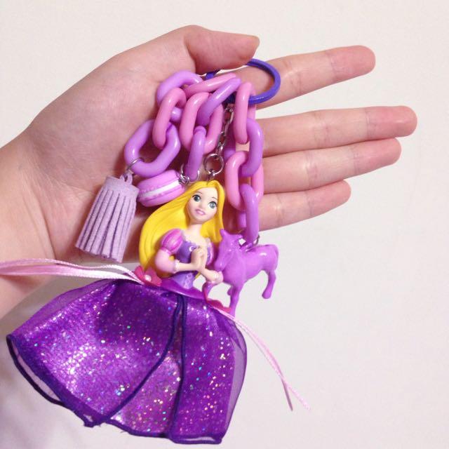 全新❗️日本迪士尼長髮公主鑰匙圈