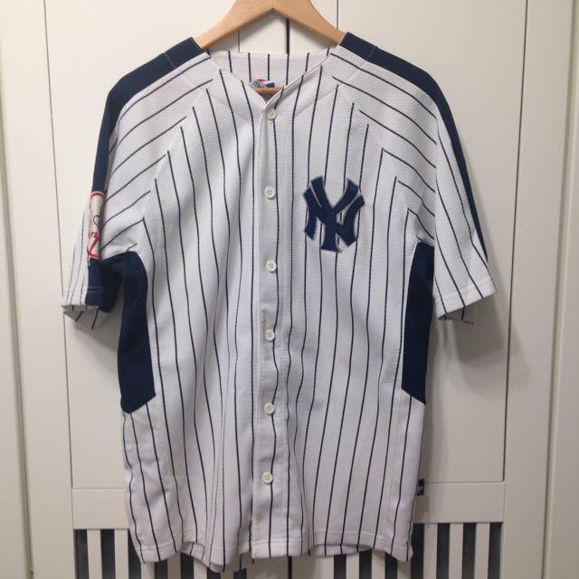 二手 New York Yankees 紐約洋基 Wang王建民 球衣