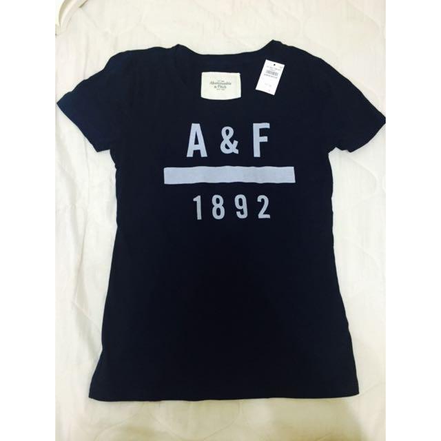 全新A&F 短袖 女生 T恤 M號