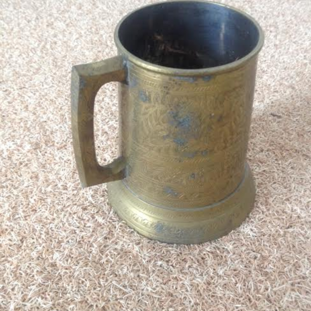 Beer Mug: Real Brass material Made in India on Carousell