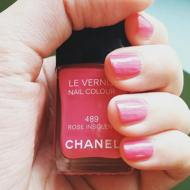 Chanel指甲油