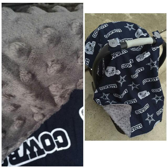 Dallas Cowboys Car Seat Canopy Babies Kids On Carousell