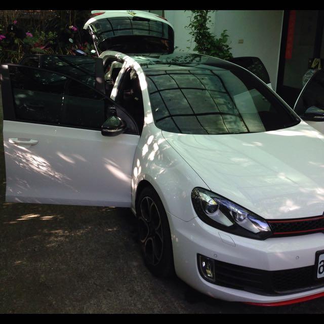 Golf GTI 6 白色