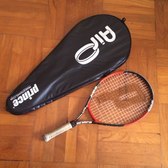 Prince Tennis Racquet and Case