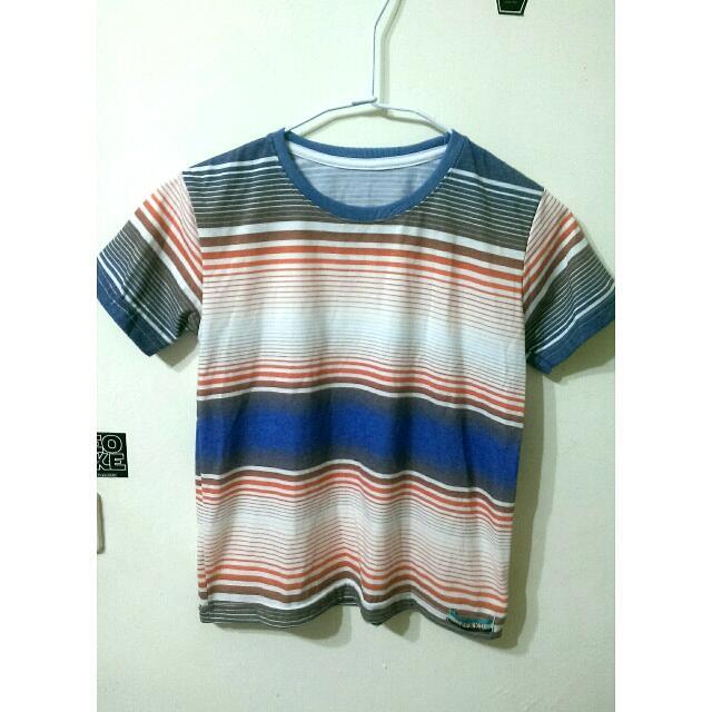 簡約合身短版t-shirt