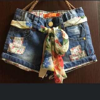 Zara 牛仔短褲