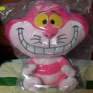 ⬇降價+含運⬇ 正版笑笑貓 裂嘴貓 柴郡貓 愛麗絲夢遊仙境 大玩偶