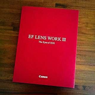 GIVING AWAY Canon EF lens work III book