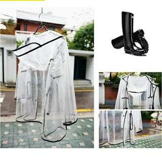 預購🙇 設計風時尚造型雨衣