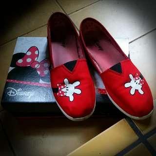 (二手)Disney 米妮懶人鞋 ※39號=24.5cm