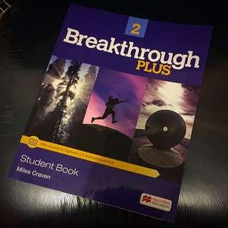 Breakthrough Plus 2 英文教材