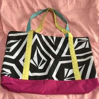 Preloved Authentic Volcom Big Beach Bag