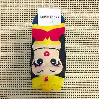美國漫畫女超人Q版踝襪