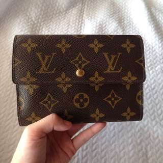 *Authentic Louis Vuitton Porte Tresor Etui Papiers Wallet