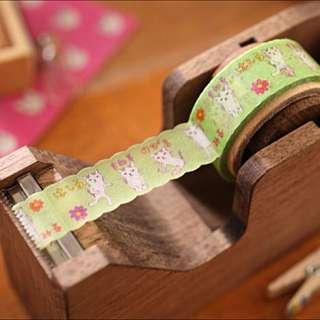 {不自然女孩} 全新現貨 日本製 oriental berry手繪風和紙膠帶